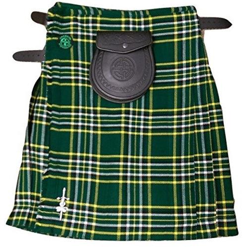 American Highlander Irish National Kilt Package