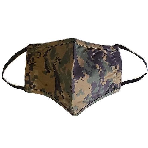 USMC Woodland Digital Camo Face Mask