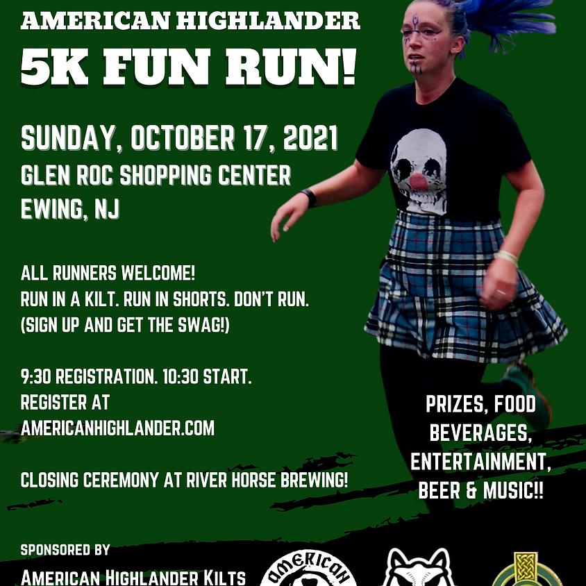 American Highlander 5K Kilted Fun Run