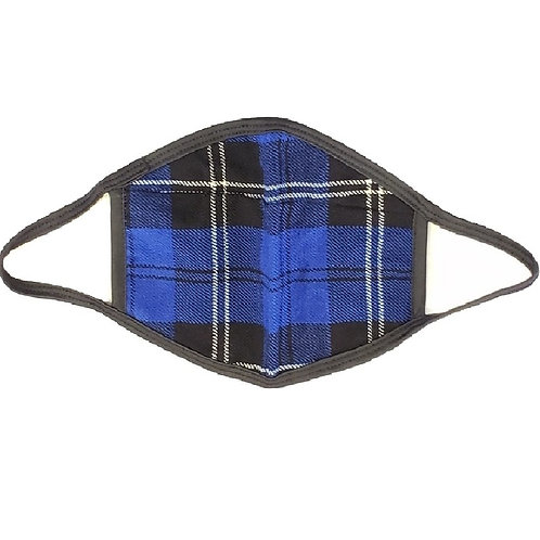 Royal Ramsay Blue Tartan Face Kilt - Double Layered and Washable