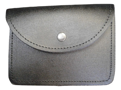 Black Leather Piper's Pouch