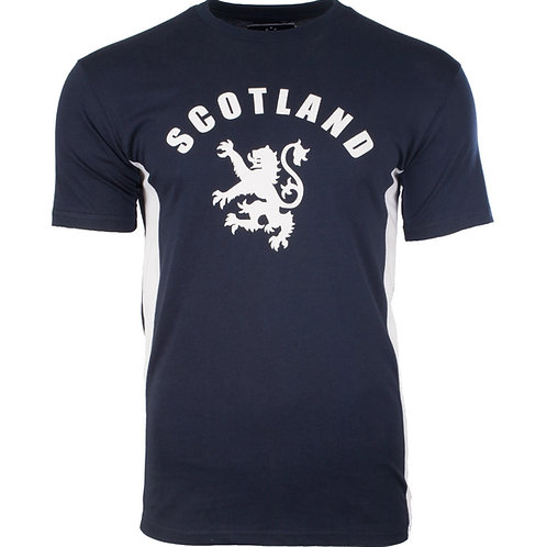 Blue Scotland Lion T-Shirt