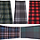 Thumbnail: 5-Pack Neck Gaiters - Breathable Tartan Neck & Face Mask