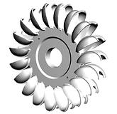 Mecamidi HPP India Hydro Logo Pelton Tur