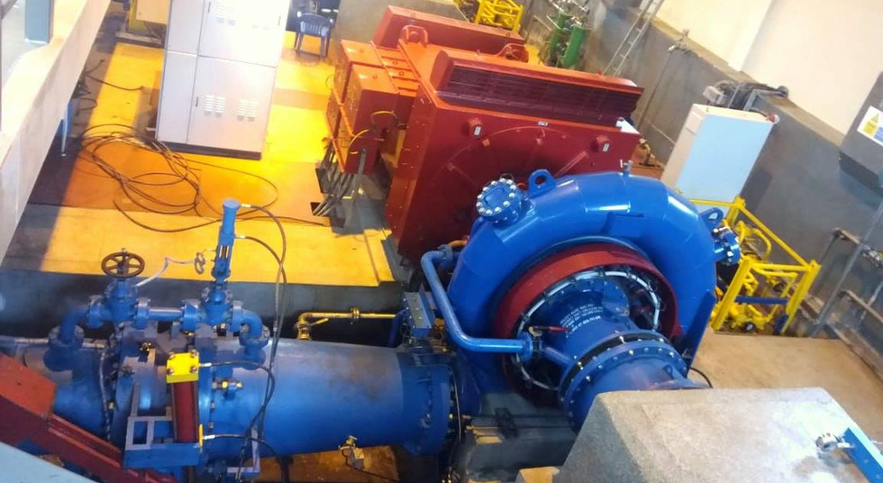 5.8 MW Waki Hydro Power Station.