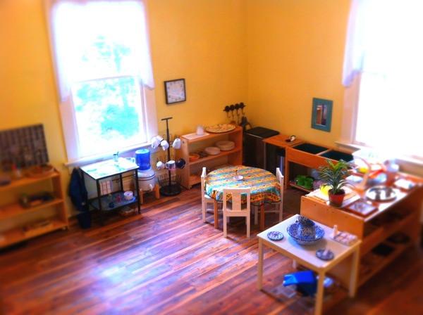 Tallulah Montessori Practical Life Area