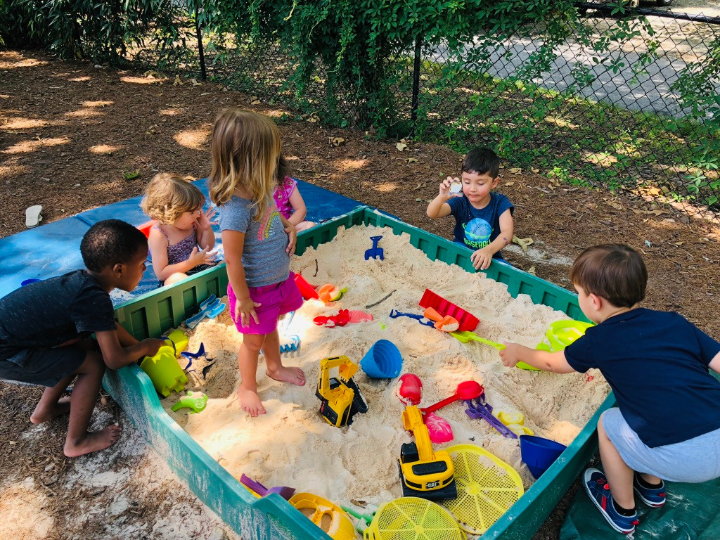 Sandbox play is a crowd favorite!