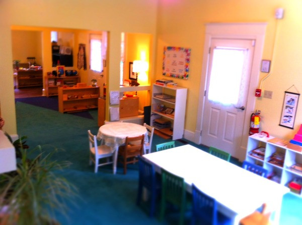 Tallulah Montessori Language Area