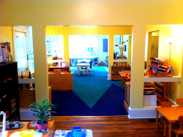Tallulah Montessori Math and Geography Area
