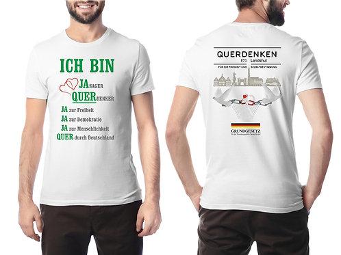 """T-Shirt für Männer """"QUERDENKEN"""""""