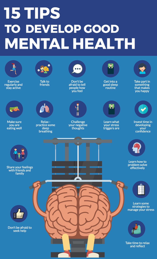 15 Tips to Develop Good Mental Health