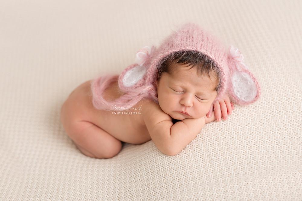 Photo naissance fille gard