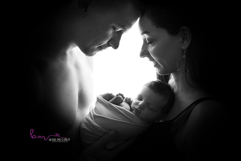 photographe nouveau né dans le Gard