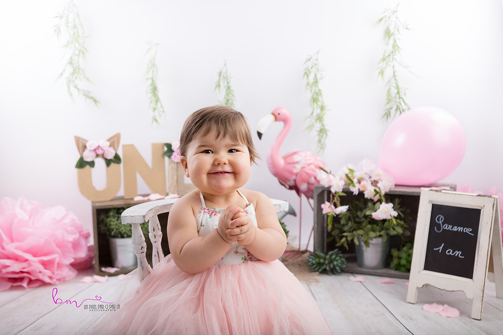photo bébé 1 an anniversaire gard
