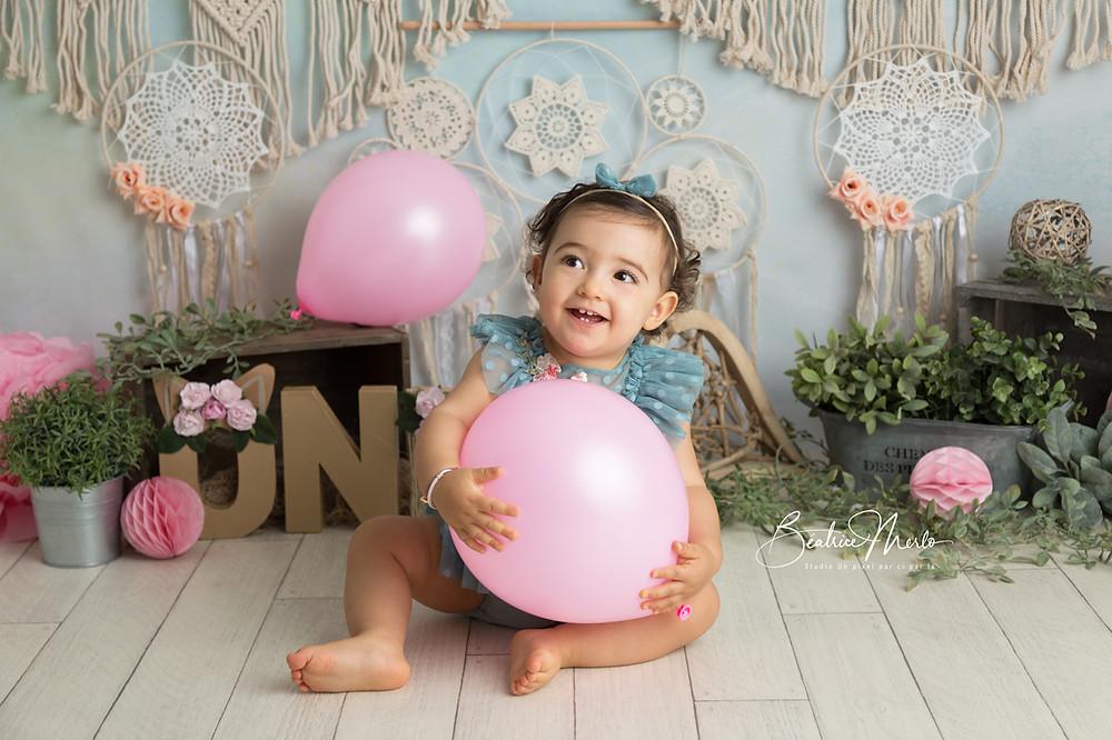 bébé 1 an attrapes rêves