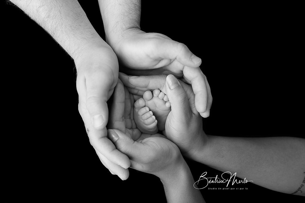 photographe séance naissance 84