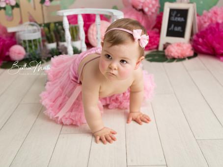 Séance photo anniversaire bébé 1 an Redessan Gard