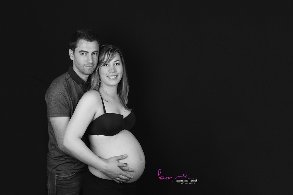 séance photographique grossesse à nimes