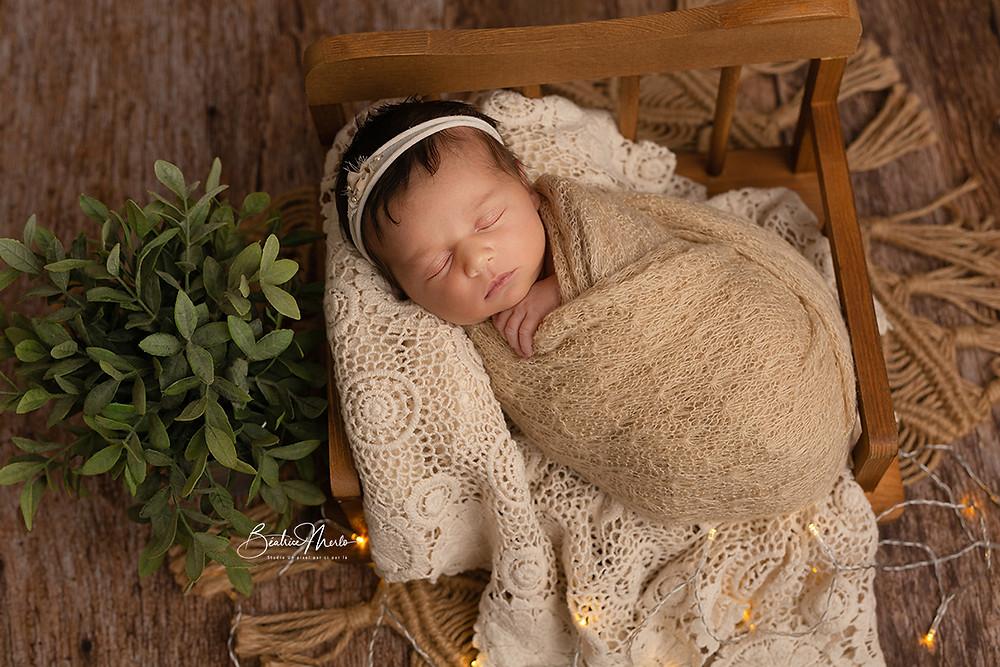 seance photo bébé naissance Gard Nimes