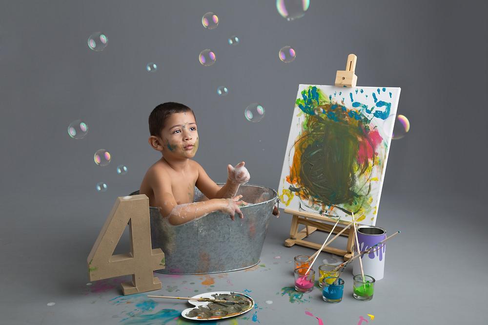 séance photo enfants à thème gard 30
