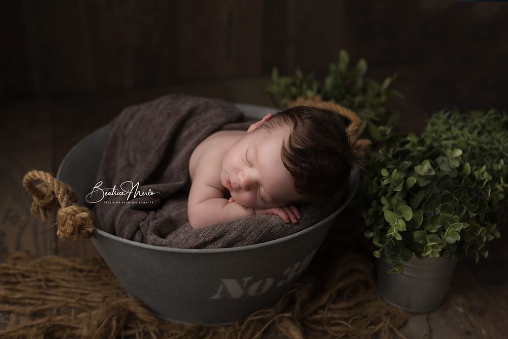 séance photo bébé gard