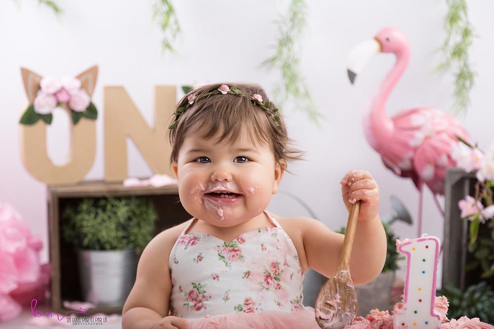 photographe smash the cake gard nimes 30