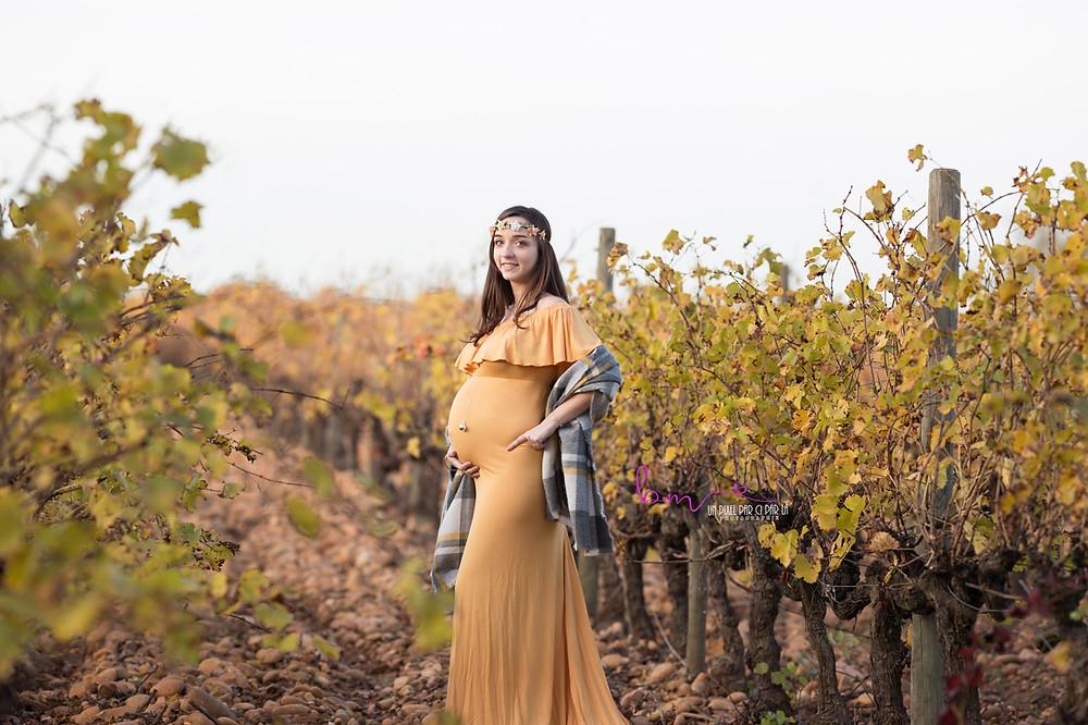 photo femme enceinte dehors gard 30