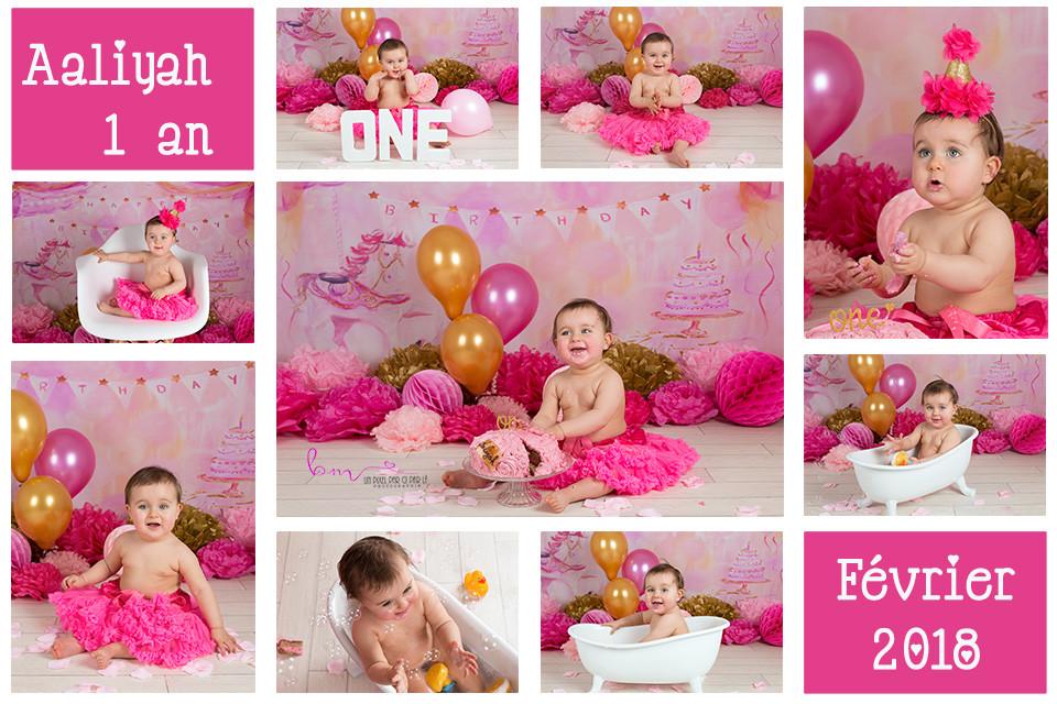séance photo anniversaire bébé 1 an gard 30