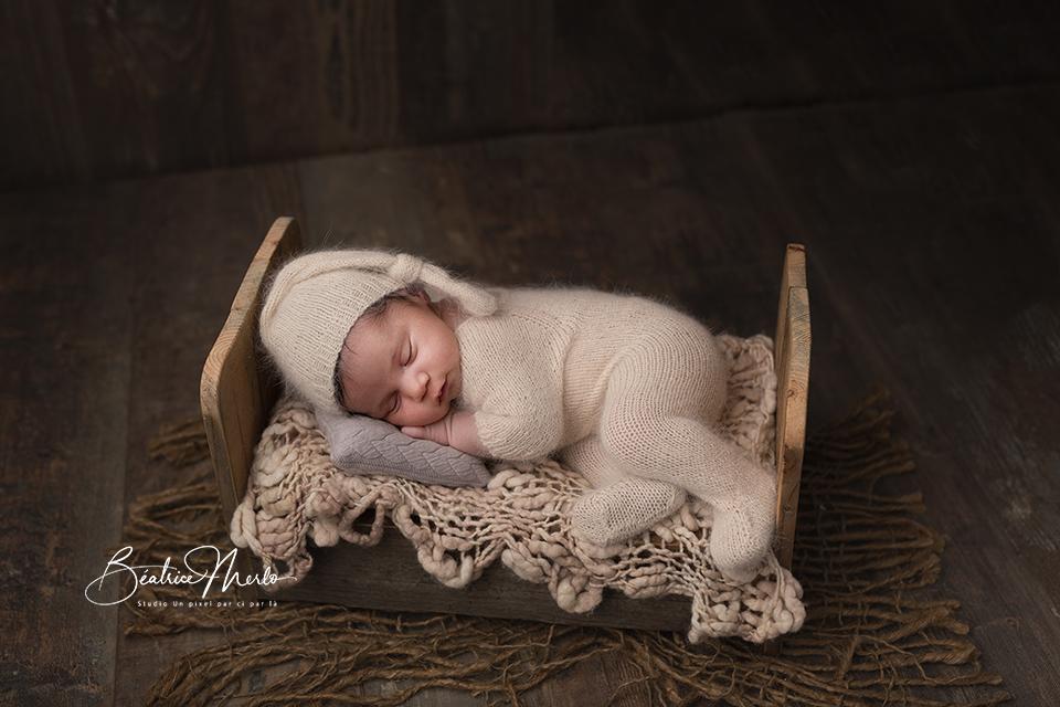 photographe naissance studio redessan