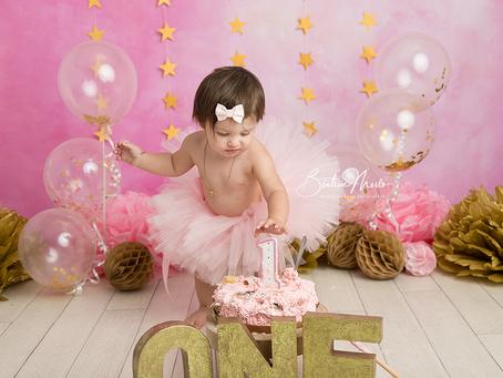 Bébé 1 an anniversaire séance photo - Photographe Gard