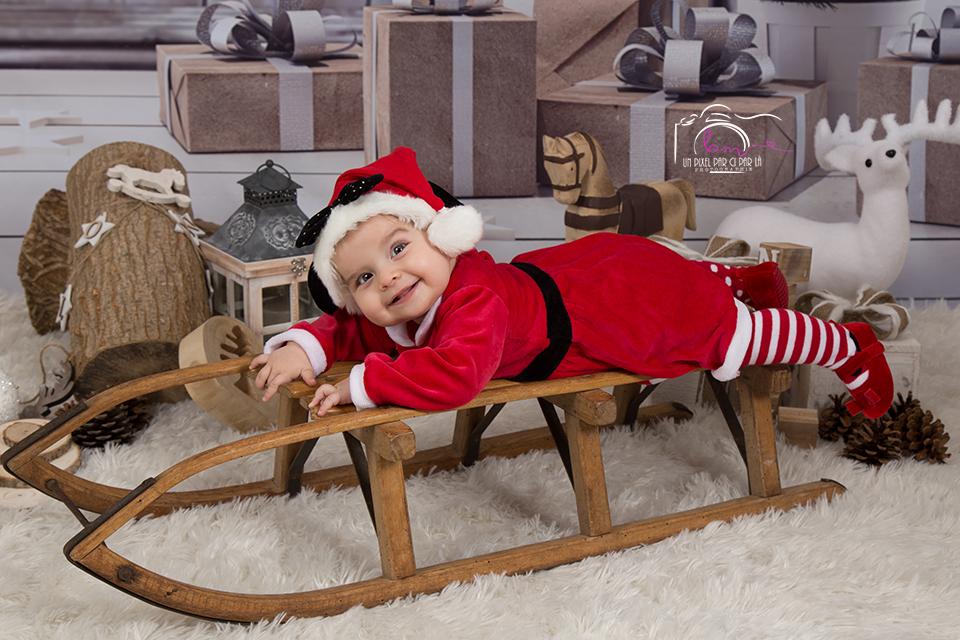 Photo bébé pour Noël