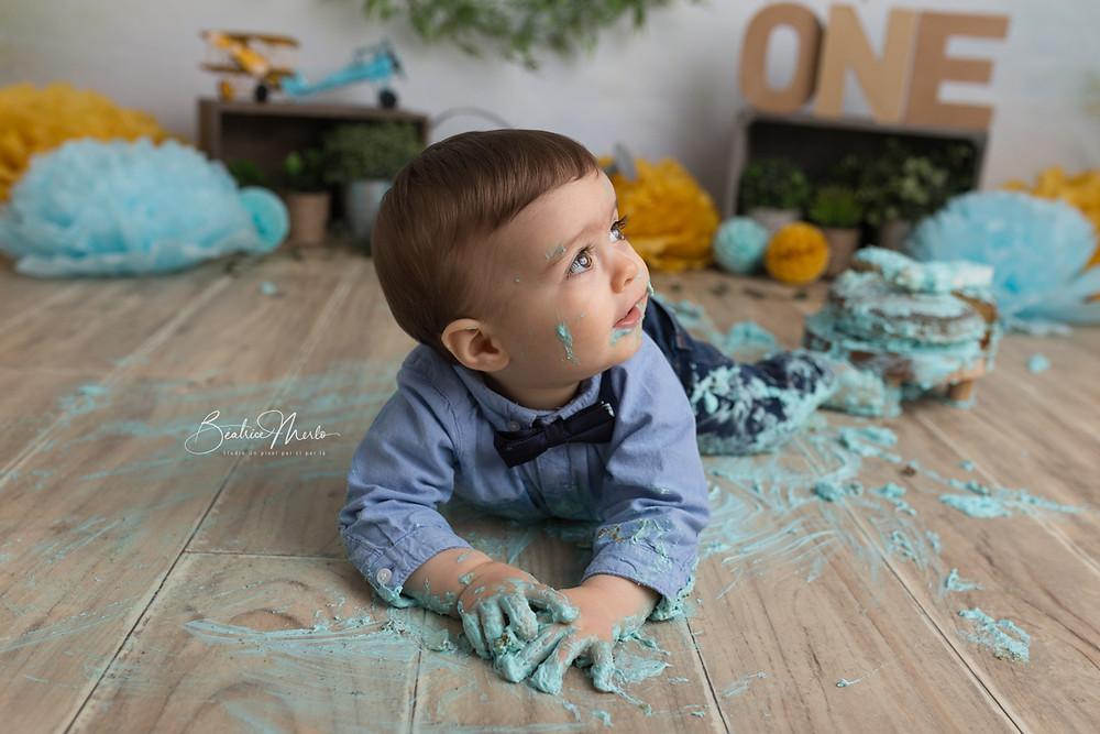 Photographe smash the cake gard
