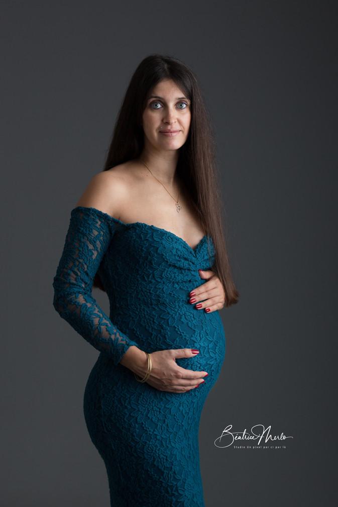 future maman robe grossesse beauté élégance