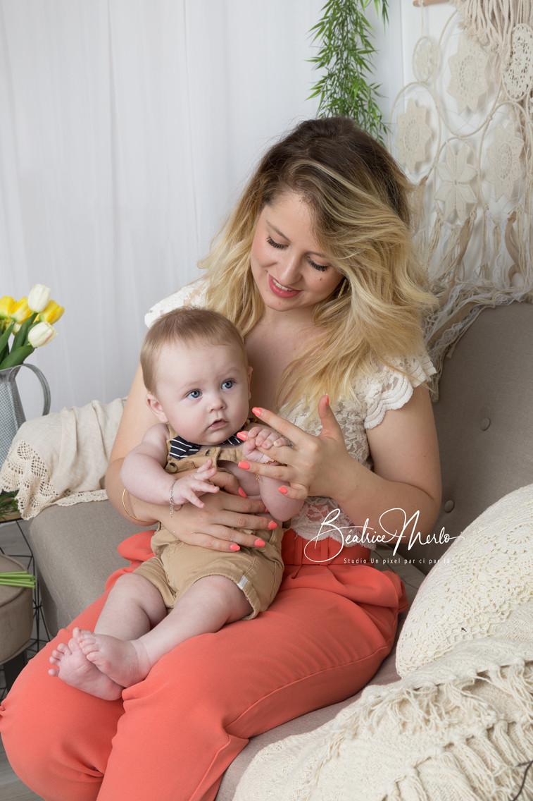 maman bébé amour canapé macramé