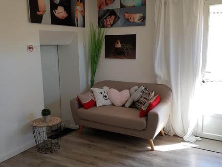 Photographe grossesse et naissance - Studio à Redessan Gard