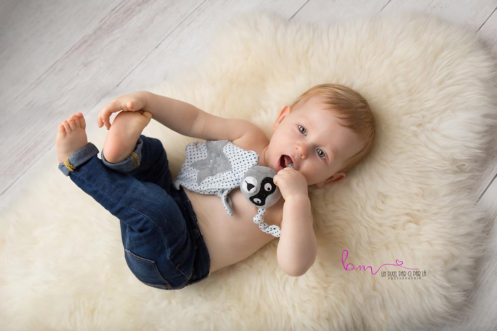 photographe bébé Gard nîmes Redessan