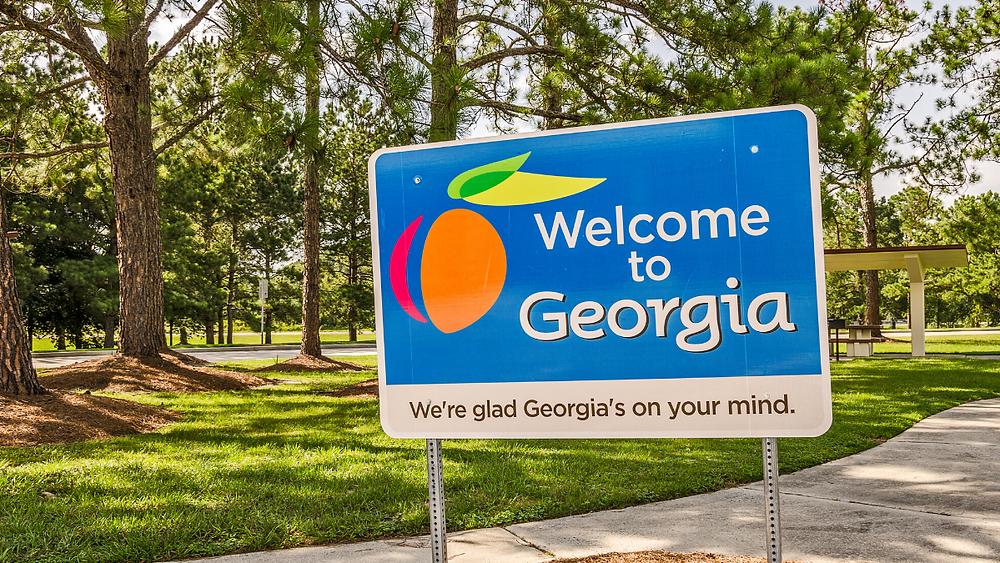 Welcome To Georgia Sign