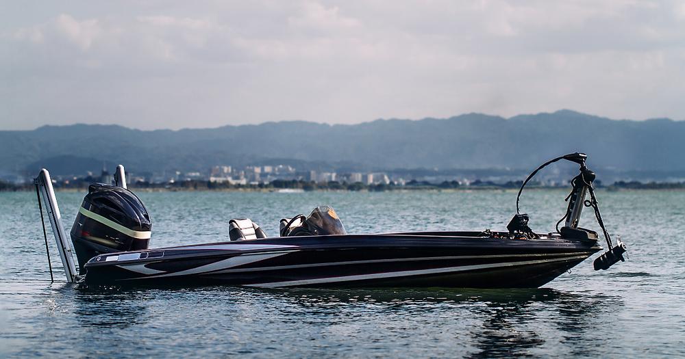 Bass Boat Fishing