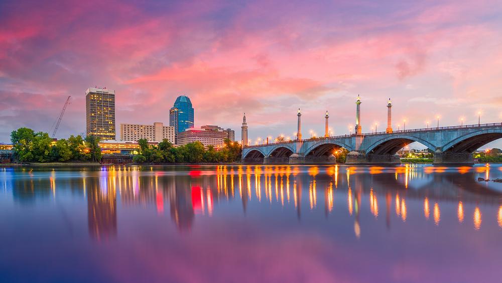 Boston Massachusetts Sunset