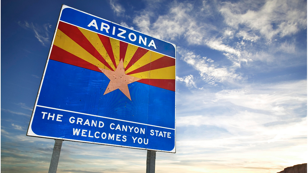 Arizona Welcome Sign