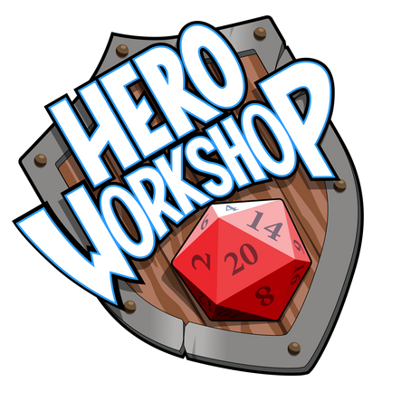 The Hero Workshop gets a Logo!