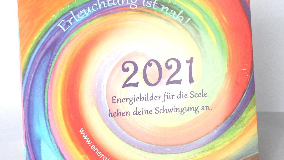 """Energie-Tischkalender """"Erleuchtung ist nah"""""""