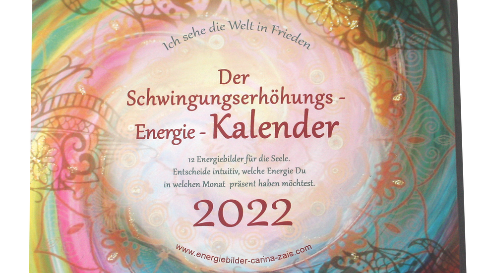 Intuitiver Energiekalender 2022