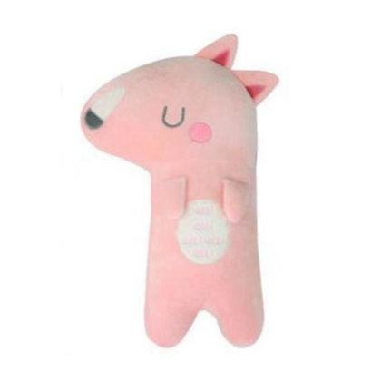 Seatbelt Pillow Pet - Pink Fox