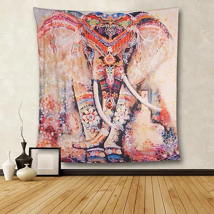 Spirit Elephant Wall Tapestry