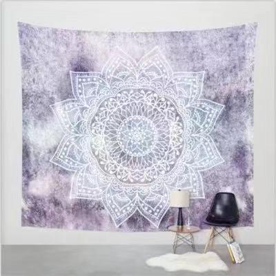 Mystic Mandala Tapestry