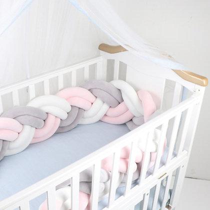 Nest Cot Bumper - Blush Extra