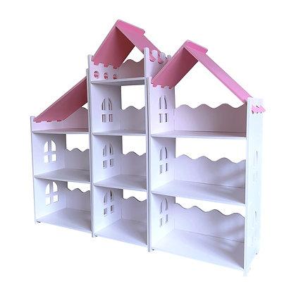 Pink Castle Bookcase -Large