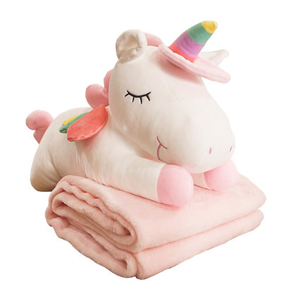 Snowball the Unicorn Blanky