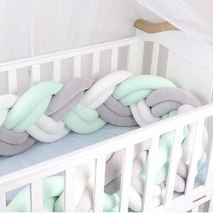 Nest Cot Bumper - Minty Extra